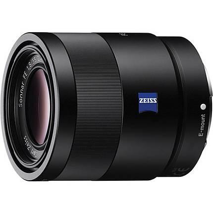 Sony Sonnar T FE 55mm f/1.8 ZA Full-frame E-Mount Prime Lens - Black