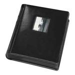 Tap 8 x 10 In. Bella Window Album Black with Black Pages (12 Pages)
