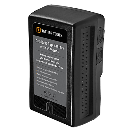 Tether Tools ONsite DTap Battery V-Mount