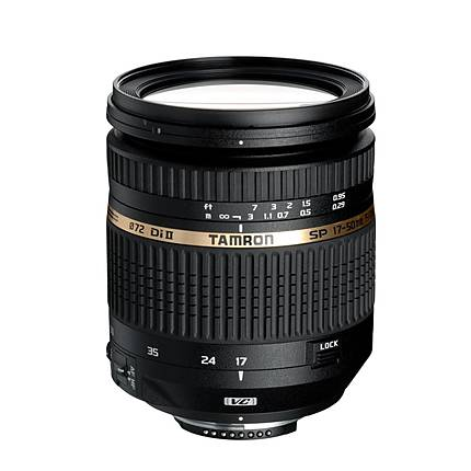 Tamron SP AF XR Di II VC LD 17-50mm f/2.8 Zoom Lens for Canon - Black