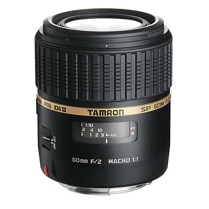 Tamron SP AF Di II LD 60mm f/2 Macro Lens for Nikon - Black
