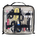 Tenba Tools Cable Pouch Duo 8 Gray with Black Piping