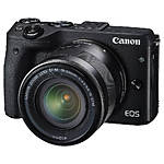 Used Canon EOS M3 Digital Camera with 18-55mm IS STM - Excellent