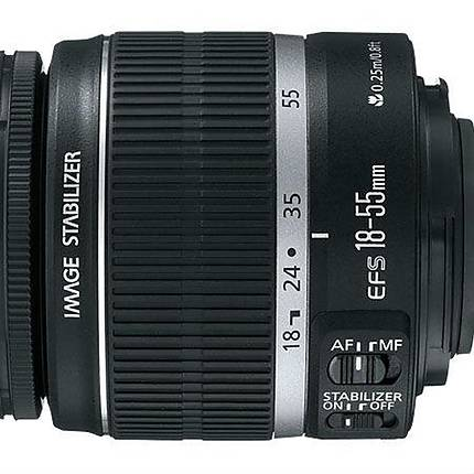 Used Canon EF-S 18-55 f/3.5-5.6 IS Lens Version 1 [L] - Excellent