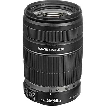 Used Canon EF-S 55-250mm f/4-5.6 IS II - Excellent