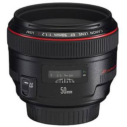 Used Canon 50mm f/1.2L USM - Excellent