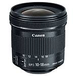 Used Canon EF-S 10-18mm f/4.5-5.6 IS STM [L] - Excellent