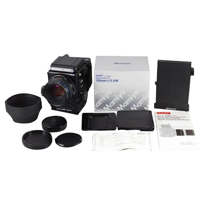 Used Mamiya RZ67 PROII w/110mm F/2 8 Lens and Level Finder [F] - Excellent