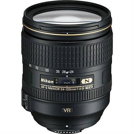 Used Nikon 24-120mm F/4 G ED AF-S VR Lens [L] - Excellent