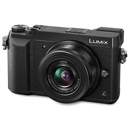 Used Panasonic Lumix GX85 Micro 4/3 w/ 12-32mm Lens - Black [M] - Excellent