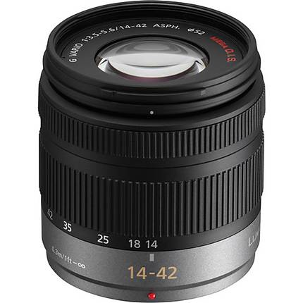 Panasonic 14-42mm f/3.5 -5.6 Lumix G Vario ASPH Lens (USED - EXCELLENT)