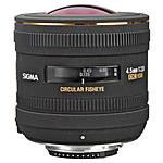 Used Sigma 4.5mm f/2.8 Circular Fisheye Lens for Nikon [L] - Excellent