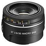 Used Sony A Mount 30mm f/2.8 Macro (No Rear Cap) [L] - Excellent