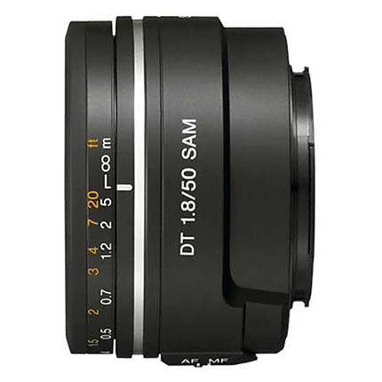 Used Sony DT 50mm F1.8 SAM **No rear caps** [L] - Excellent