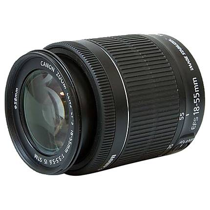 Used Canon EF-S 18-55mm F3.5-5.6 Lens - Good