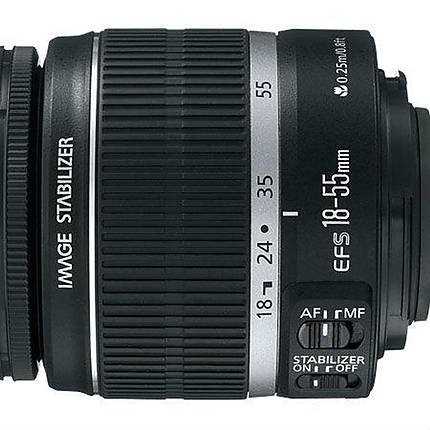Used Canon EF-S 18-55 f/3.5-5.6 IS Lens Version 1 [L] - Good