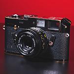 Used Leica M4 Rangefinder Body Only (Black Brass) - Good