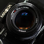 Used Minolta Maxxum AF 50mm f/1.4 (Crossed XXs) [L] - Good