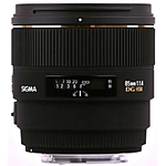 Used Sigma 85mm f/1.4 EX DG HSM for Nikon F - Good