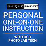 Personal One-on-One Instruction with a Photo Lab Tech