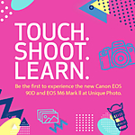 *FREE RSVP* Canon Touch and Try Event