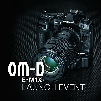 *FREE RSVP* Olympus OM-D E-M1X Launch Event