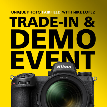 *FREE RSVP* Nikon Trade-in and Demo Event