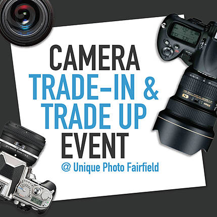 *FREE RSVP* Unique Photo Camera Trade-in and Trade Up Event