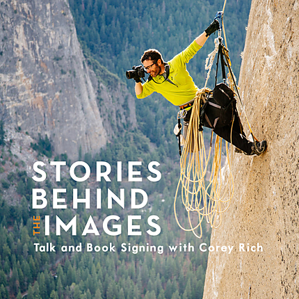 Stories Behind the Images: Talk and Book Signing with Corey Rich (Nikon)