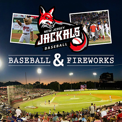 NJ Jackals Baseball and Fireworks with Michael Downey