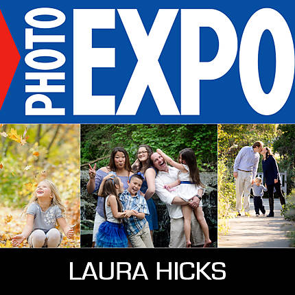 EXPO: Beautiful Family Portraits Photo Shoot with Laura Hicks (Olympus)