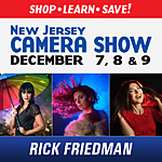 NJCS: Speedlights and Studio Strobes Shoot with Rick Friedman (Tamron)