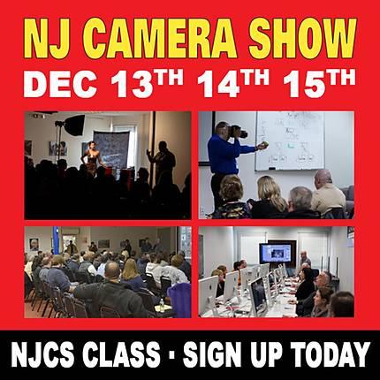 NJCS: Advanced Creative Lighting with Robert Harrington and ExpoImaging