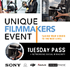 Unique Filmmakers Event: Tuesday Pass with Networking Social
