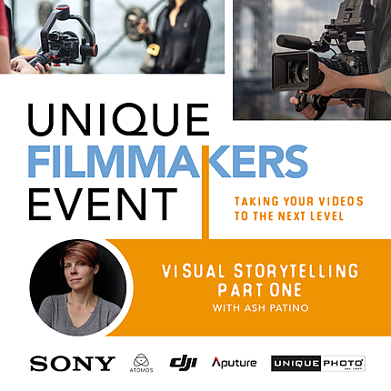 Visual Storytelling: Part One with Ash Patino