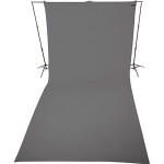 Westcott 9 x 20 Feet Neutral Gray, Wrinkle-Resistant Backdrop