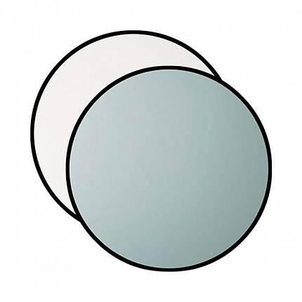 Westcott 40 Inch 2-in-1 Silver/White Reflector
