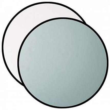 Westcott 50 Inch 2-in-1 Silver/White Reflector