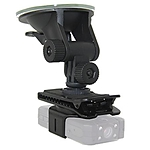 Wolfcom Suction Cup Mount with Threaded Venture Clip