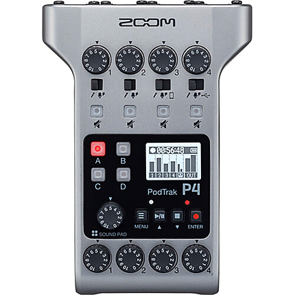 Zoom Podtrak P4 Podcast Recorder