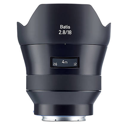 Zeiss Batis 18mm f/2.8 AF lens for Sony Full Frame E-Mount Cameras