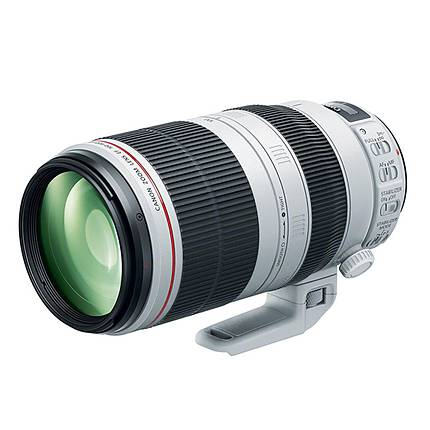 Canon EF 100-400mm f/4.5-5.6L IS II USM Telephoto Zoom Lens - Black
