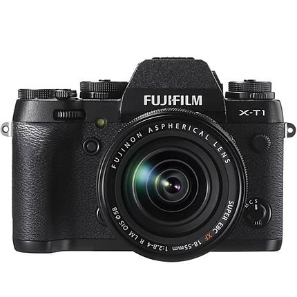 Fujifilm X-T1 16.3MP Mirrorless Camera with XF 18-55mm OIS Lens-Black