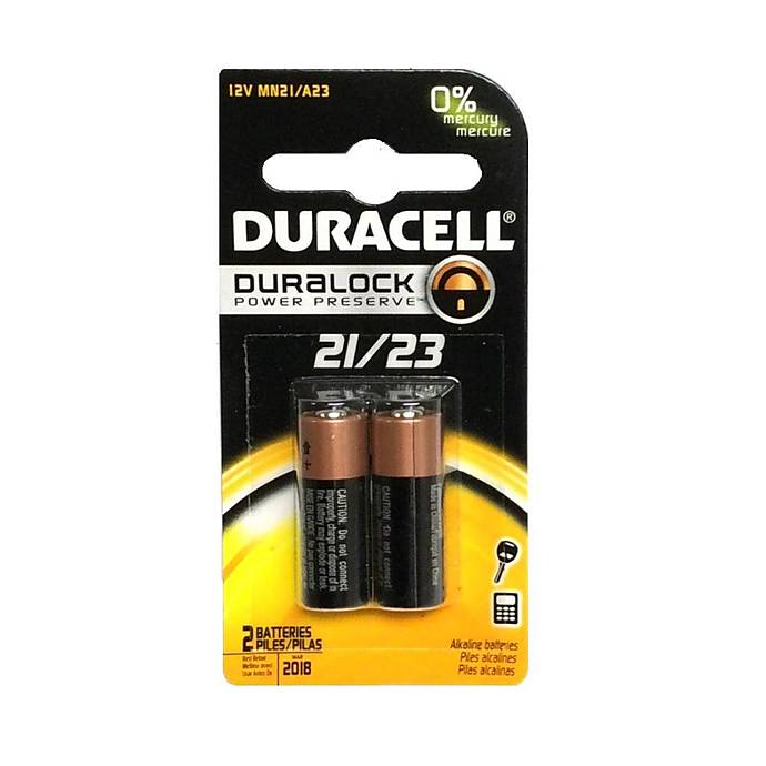 Duracell MN21 / A23 2-Pack Alkaline Batteries(sold As 2