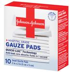 Johnson  and  Johnson Gauze Pads 2inch x 2inc 10ct