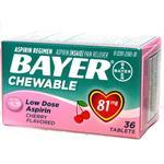 Bayer Low-Dose Aspirin **32ct** 81mg