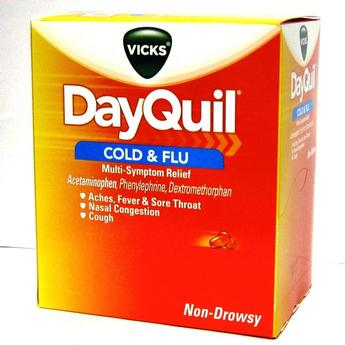 DayQuil Cold and Flu LiquiCaps 2pks Box of 25 2pks