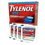 Tylenol PM 2pk Caplets (Box of 50 2pks) **ONLY 9/2018 EXPIRATION**