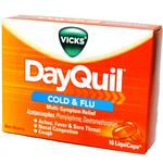 Dayquil Cold  and  Flu LiquiCaps Box of 16
