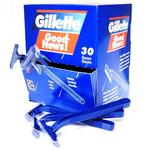 Gillette GoodNews Dispenser Box of 30 Razors (Maybe with or without Stripe)